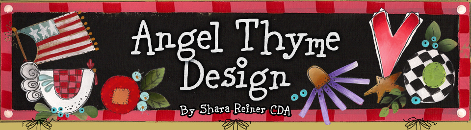 Angel Thyme Designs By Shara Reiner Cda
