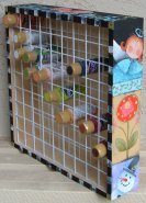 #1000 Craft Paint Storage Rack