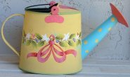#994 Yellow Watering Can