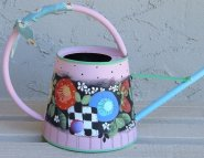 #995 Pink Watering Can